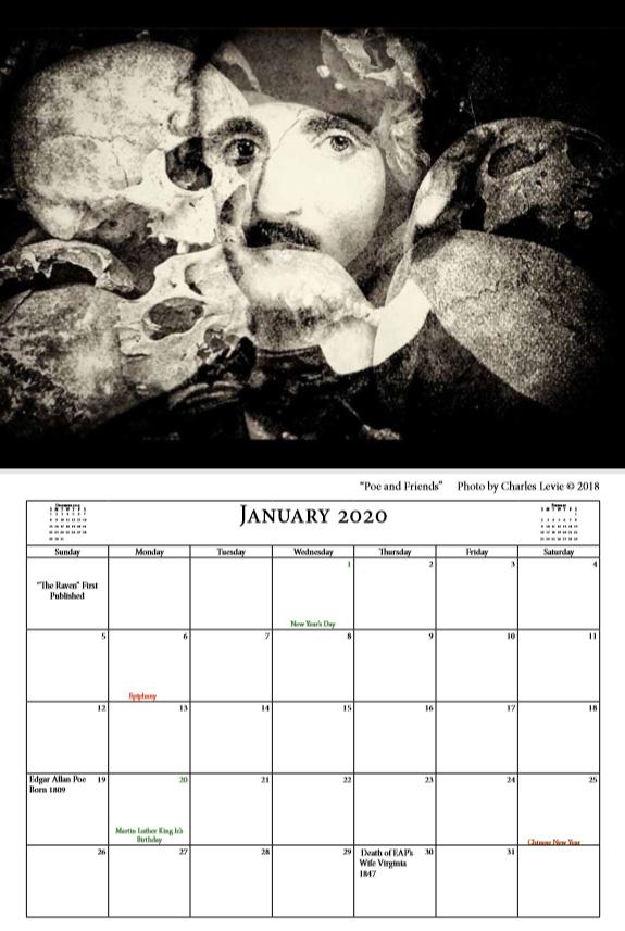 Poe Calendar